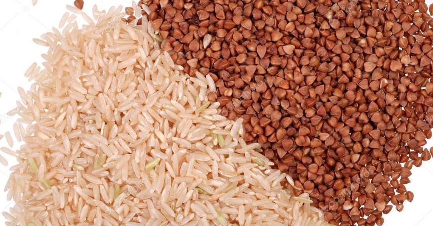 отделить гречку от риса